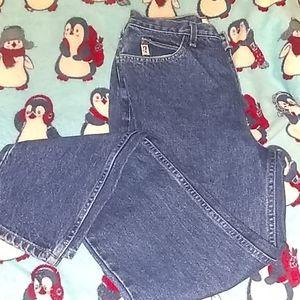 Vintage Darkwash Guess Mom Jeans